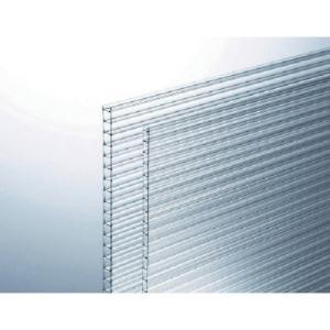 光 ポリカ中空ボード透明4mm KTP2191W−1 KTP2191W1