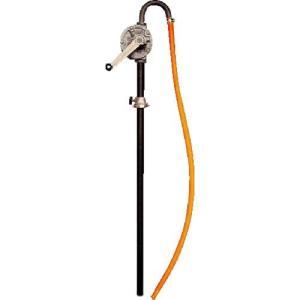 アクアシステム 手廻しドラムポンプ 灯油 軽油 オイル(500cP以下対応) HR-2B ( HR2B )|haikanshop