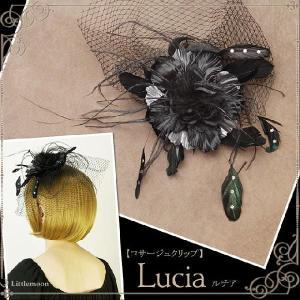Gothic Beauty コサージュクリップ ルチア ヘッドドレス ゴシック&ロリータ ゴスロリ パーティー|hair