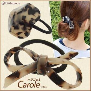 ヘアゴム マーブル Marble Marble キャロル ヘアアクセサリー リボン|hair