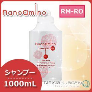 ニューウェイジャパン ナノアミノ シャンプー RM-RO ローズシャボン (しっとりタイプ) 100...