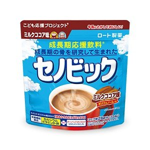 新セノビック ミルクココア味 224g ロート製薬 成長期応援飲料