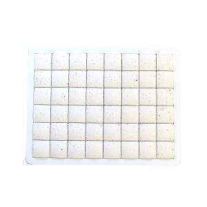 ピュアリフレ 珪藻土バスマット ホワイト Sサイズ 〔立風屋〕|hajimaru|02