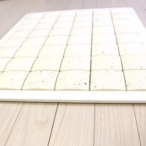 ピュアリフレ 珪藻土バスマット ホワイト Sサイズ 〔立風屋〕|hajimaru|03