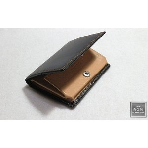 (永久創)本革 コインケース  ブラック(黒) NIFTY2シリーズ XO1105-Y-BK|hajimaru