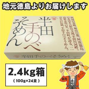 半田そうめん (極寒手のべ) 2.4kg(100g×24束) 竹田製麺(のし 無料)