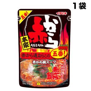【5袋まで送料均一】イチビキ 赤から鍋スープ 5番 ストレートタイプ 750g×1袋(名古屋赤味噌)【発送重量 1kg】codeA1|hakariurisaiyasu