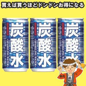 炭酸水 185ml缶×30本  サンガリア 【発送重量 5kg】codeB1|hakariurisaiyasu
