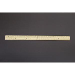 竹尺ものさし カネ尺 1尺両目 片側センチ付 普通巾22mm OBS hakaronet