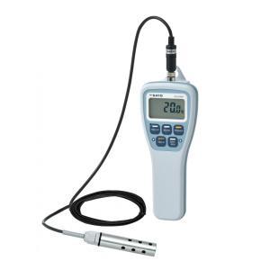 佐藤計量器 SK-270WPフック穴付 防水型デジタル温度計 投げ込みセンサS270WP-31付 SATO|hakaronet