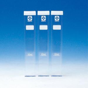 柴田科学SIBATA残留塩素測定器DPD法用角形試験管3本組シリコンキャップ付