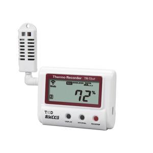 ティアンドデイT&D おんどとり温度・湿度データロガー TR-72wf 温度・湿度各1ch
