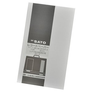 佐藤計量器 NO.7202-62 シグマII型地中隔測温度記録計用2針用記録紙 7日用 (55枚入)SATO|hakaronet