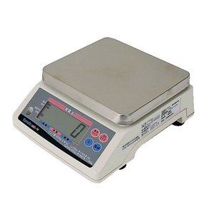 大和製衡 UDS-1V-6ステンレス皿付き デジタルはかり ひょう量6kg検定品 Yamato|hakaronet