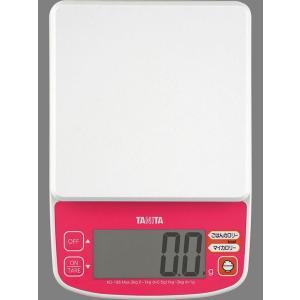タニタの製品です。ひょう量2000g、0〜1000gまで0.5g単位、1000〜2000gまで1g単...