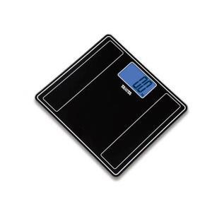 タニタTANITAデジタルヘルスメーターHD-385-MKメタリックブラック 最小表示100g単位|hakaronet