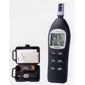 佐藤計量器 SK-120TRH デジタル温湿度計 No.8130-00 SATO|hakaronet
