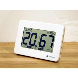 熱研 SN-908 大型デジタル温湿度計 NETSUKEN|hakaronet