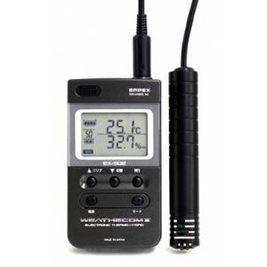 エンペックス EX-502 ウェザーコムII デジタル温湿度計 日本製 EMPEX|hakaronet
