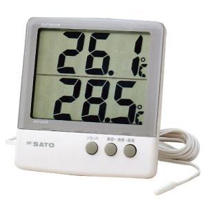 佐藤計量器SATOデジタル最高最低温度計PC-6800 1060-00 hakaronet