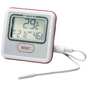 佐藤計量器SATOデジタル最高最低温度計PC-3500 1740-50 hakaronet