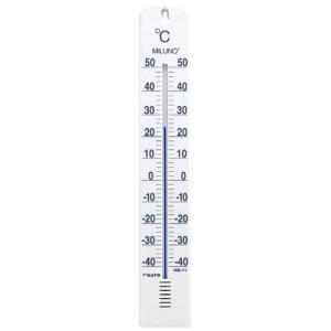 佐藤計量器 SATO 大型寒暖計ミルノ ホワイト  1517-00|hakaronet