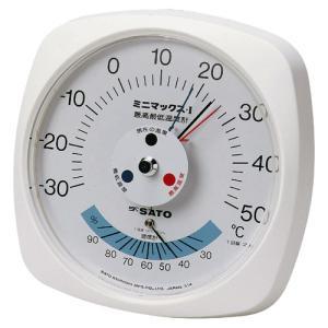 佐藤計量器SATO最高最低温度計ミニマックスI型7308-00 hakaronet