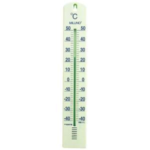 佐藤計量器 SATO 大型寒暖計ミルノ パステルグリーン 1517-30|hakaronet
