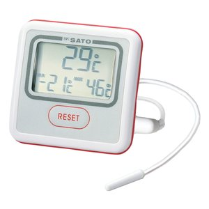 佐藤計量器 PC-3300 デジタル冷蔵庫用温度計 1740-00 SATO|hakaronet