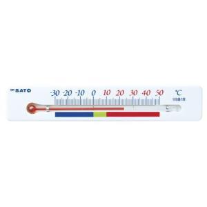 佐藤計量器SATO冷蔵庫用温度計ポリス 1713-00|hakaronet