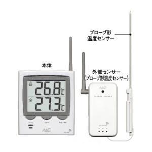 エーアンドデーA&Dワイヤレス内外温度計AD-5661S hakaronet