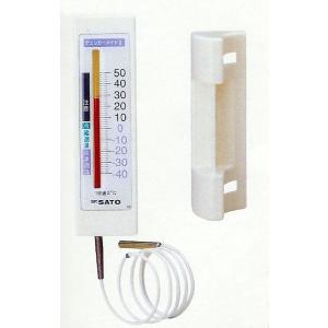 佐藤計量器SATO冷蔵庫用温度計チェッカーメイトII一針タイプ  1716-00|hakaronet