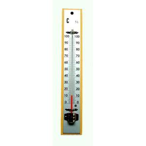日本計量器工業NIKKEI 木製100℃寒暖計|hakaronet