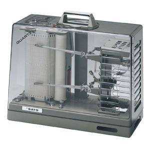 佐藤計量器 オ−ロラ90III型長期巻温湿度記録計(1ヶ月用用紙付)No.7012-20 SATO|hakaronet