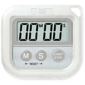 タニタTANITA丸洗いタイマー100分計TD-376-WHホワイト hakaronet