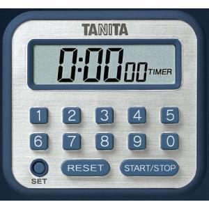 タニタTANITA長時間タイマーTD-375-BLブルー hakaronet