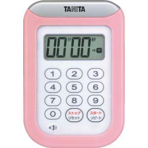 タニタTANITA丸洗いタイマー100分計TD-378-PKピンク hakaronet