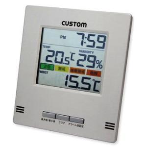 カスタムCUSTOM卓上・壁掛型熱中症指数計HI-300|hakaronet
