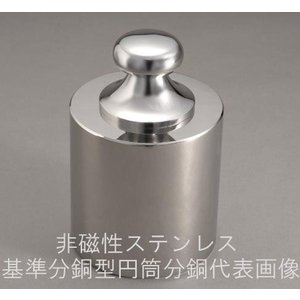 新光電子 基準分銅型円筒分銅 非磁性ステンレス製 F1級 10kg|hakaronet