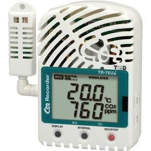 CO2・温度・湿度データロガー TR-76Ui (CO2・温度・湿度 各1ch)|hakarumono