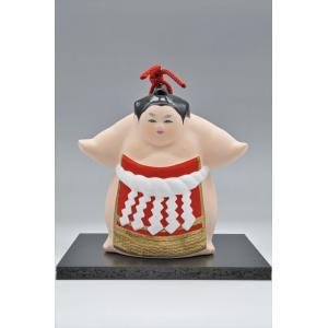 博多人形 【土鈴・横綱】神聖な土俵入りを土鈴で・・・|hakata-honpo