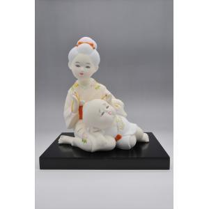 博多人形  【お姉さん】こんな風景・・・懐かしくありませんか?|hakata-honpo