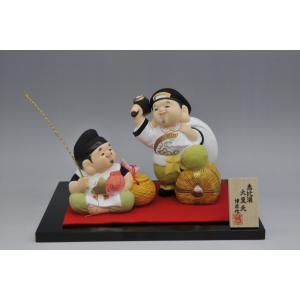 博多人形  【恵比寿大黒天】|hakata-honpo