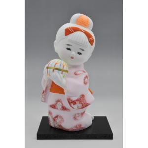 博多人形 【少女まり】 |hakata-honpo
