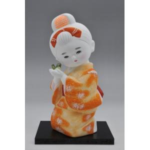博多人形 【少女うぐいす】 ま〜可愛い!! hakata-honpo