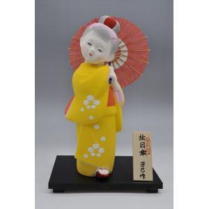 博多人形 【絵日傘】 和傘がお似合いの、愛らしい博多人形 hakata-honpo