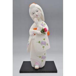 博多人形  【花の香】恋する乙女・・・ hakata-honpo