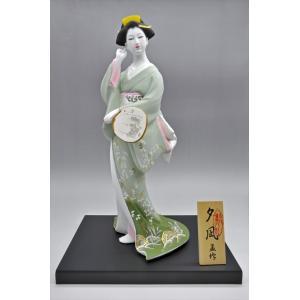 博多人形 【夕 凪】 博多人形でも珍しい、夏の美人物。優雅な姿に〜うっとり・・・|hakata-honpo