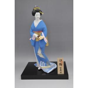博多人形 【汐路】 古典的な博多美人を表現 hakata-honpo