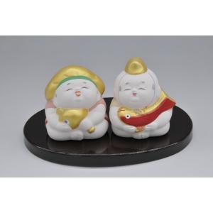 博多人形 【寿】 愛と長寿を祝う高砂 hakata-honpo